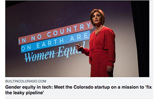 Link Built In Colorado Article Katica Roy Gender Equity in Tech Startup