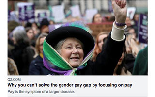 Link Quartz Article Katica Roy Why You Cant Solve The Gender Pay Gap By Focusing On Pay