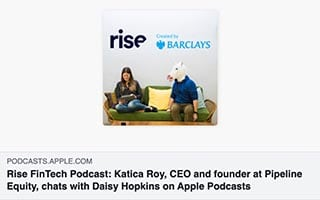 Katica Roy Podcast Rise FinTech chats with Daisy Hopkins