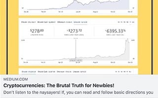 Keith Herman Article Medium Cryptocurrnecies The Brutal Truth For Newbies