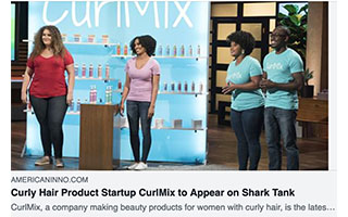 Link AmericanInno Article Kimberly Lewis Curly Hair Product Startup To Appear on Shark Tank