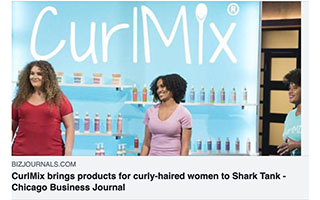 Link BizJournals Article Kimberly Lewis CurlMix Brings Products For Curly Haired Women to Shark Tank