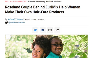 Link DNA Info Article Kimberly Lewis Roseland Couple Behind CulrMix Help Women Make Their Own Hair Care Products