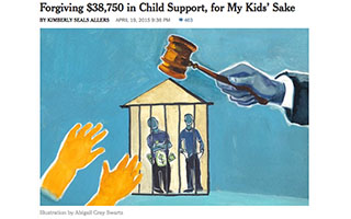 Link The New York Times Article Kimberly Seals Allers Forgiving Child Support