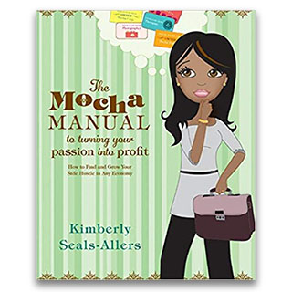 Link Amazon Book Kimberly Seals Allers The Mocha Manual to turning your passion into profit