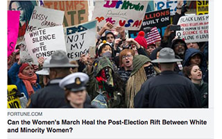 Link Fortune Article Kimberly Seals Allers Can The Womens March Heal the Post Election Rift