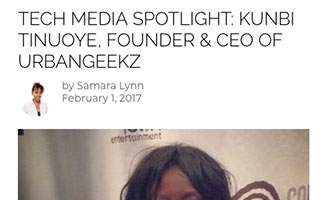 Link Black Enterprise Article Kunbi Tinuoye Tech Media Spotlight