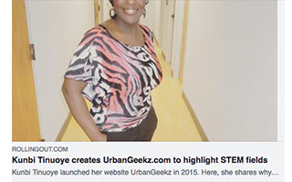 Link Rolling Out Article Kunbi Tinuoye UrbanGeekz to highlight STEM fields