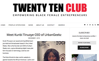 Link Twenty Ten Club Article Meet Kunbi Tinuoye