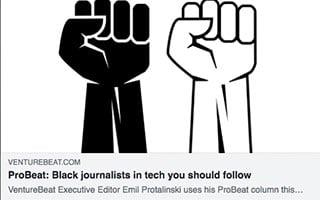 Kunbi Tinuoye Article VentureBeat ProBeat - Black Journalists in Tech You Should Follow