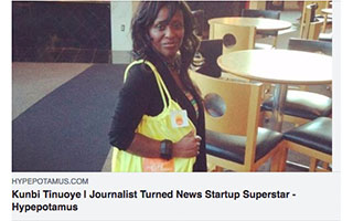 Link Hypepotamus Article Kunbi Tinuoye Journalist Turned News Startup Superstar