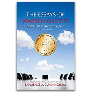 Link Amazon Book Lawrence Cunningham The Essays of Warren Buffett