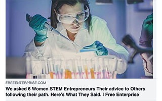 Link Free Entreprise Article Leah La Salla We Asked 6 Women STEM Entrepreneurs Their Advice to Other Following Their Path