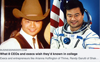 Link Business Insider Article Leroy Chiao CEO Advice Gravity Speakers