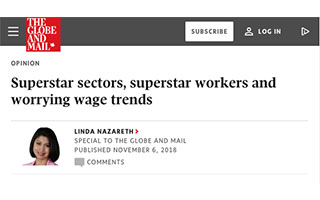 Link TheGlobeandMail Article Linda Nazareth Superstar Sectors