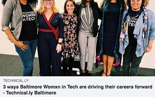 Lolita Taub Article 3 Ways Baltimore Womxn in Tech are Driving Their Careers Forward
