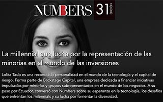 Lolita Taub Article Numbers Feature