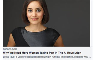 Link Forbes Article Lolita Taub Women In The AI Revolution