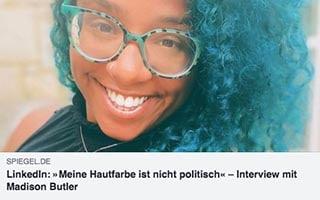 Madison Butler Article Der Spiegel My Skin Color Is Not Political