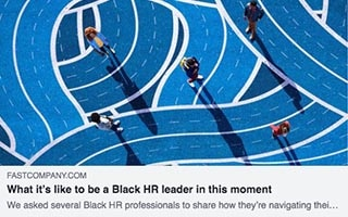 Madison Butler Article Fast Company What it's like to be a Black HR leader in this moment