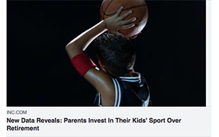 Link INC Magazine Article Mandy Antonicci Parents Invest In Their Kids Sport Over Retirement