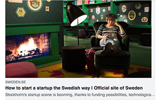 Link Sweden Article Maral Kalajian How To Start Up The Swedish Way