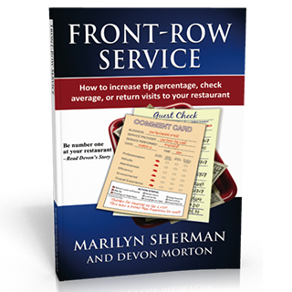 Link Amazon Marilyn Sherman Book Front Row Service