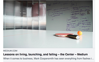 Link Medium Mark Coopersmith Article Lessons on Living Launching Failing Gravity Speakers