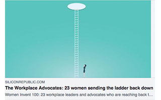 Link Silicon Republic Article Melinda Epler The Workplace Advocates 23 Women Sending The Ladder Back Down