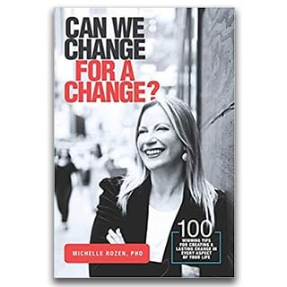 Michelle Rozen Book Can We Change For a Change