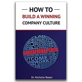Michelle Rozen Book How To Build A Winning Company Culture