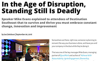 Link Successfulmeetings Mike Evans Articles In The Age of Disruption