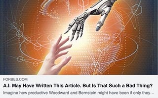 Neil Sahota Article Forbes AI May Have Written This Article But Is That Such A Bad Thing