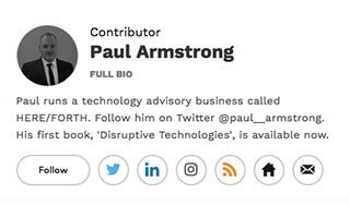 Link Forbes Articles Contributor Paul Armstrong