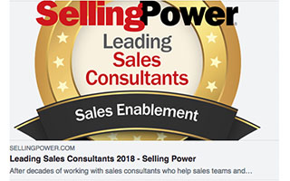 Link Selling Power Article Roderick Jefferson Leading Sales Consultants 2018