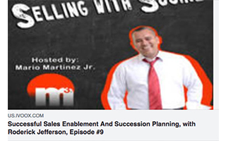 Link IVOOX Podcast Roderick Jefferson Successful Sales Enablement and Succession Planning Gravity Speakers