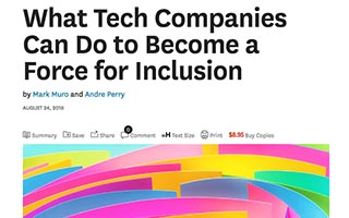 Link Harvard Business Review Article What Tech Companies Can Do To Become a Force for Inclusion