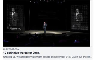 Link Huffpost Article Rodney Sampson 10 Definitive Words for 2018