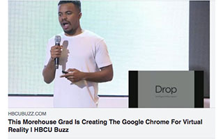 Link HBCU Buzz Article Russell Ladson This Morehouse Grad is Creating The Google Chrome for Virtual Reality