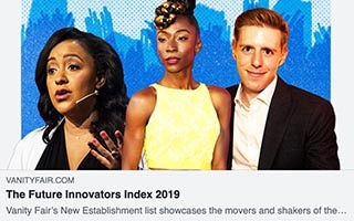 Sheena Allen Article VanityFair The Future Innovators Index 2019