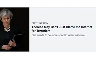 Link Fortune Shontavia Johnson Article Fortune Theresa May Cant Just Blame The Internet for Terrorism