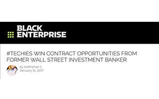 Link Black Enterprise Article Sky Kelley Techies Win Contract Opportunities