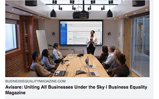 Link BEQ Magazine Article Sky Kelley Avisare Uniting All Businesses