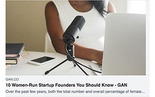 Link GAN Article Stephanie Cummings 10 Women Run Startup Founders You Should Know