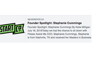 Link Start Co Blog Article Stephanie Cummings Founder Spotlight