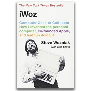 Link Amazon Steve Wozniak Book iWoz Computer Geek to Cult Icon
