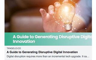 Link Tangelo Tara Carter Article A Guide To Generating Disruptive Digital Innovation