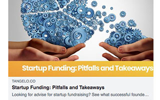 Link Tangelo Tara Carter Article Startup Fundig Pitfalls and Takeaways