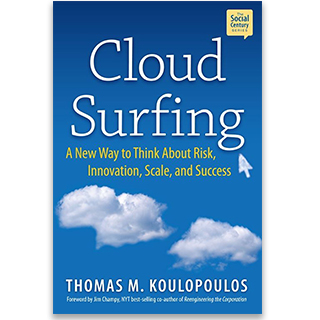 Link Amazon Thomas Koulopoulos Book Cloud Surfing Innovation Keynote Gravity Speakers