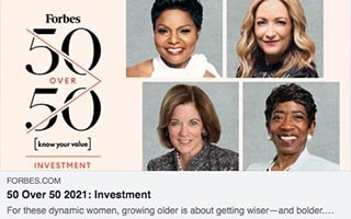 Tonya Evans Article Forbes 50 over 50